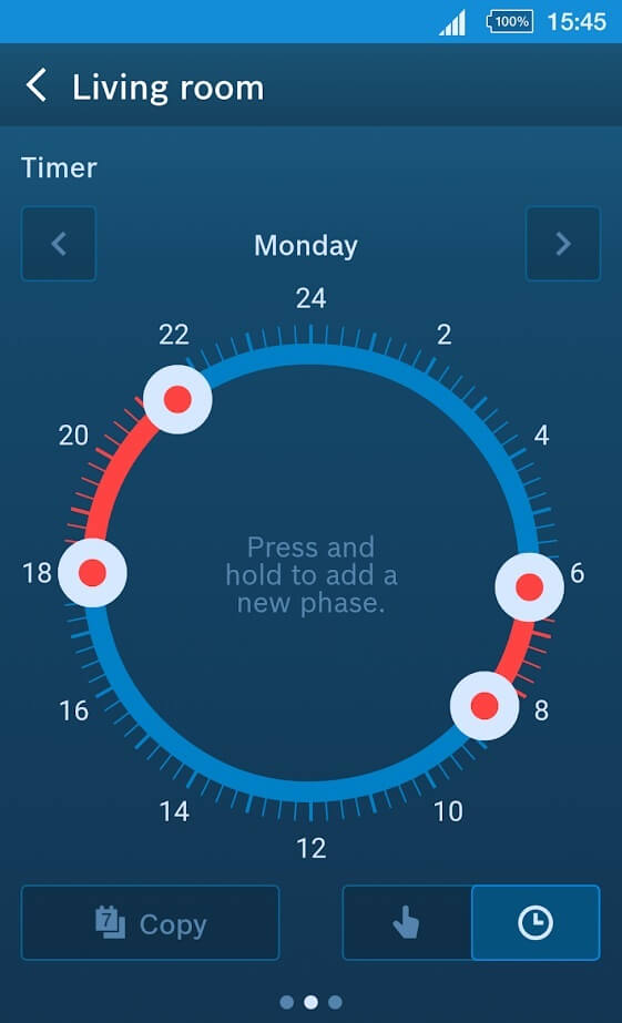 Bosch Smart Home Heizkörperthermostat App