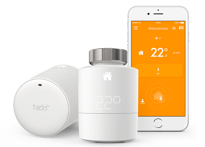 smart home heizkörperthermostat tado