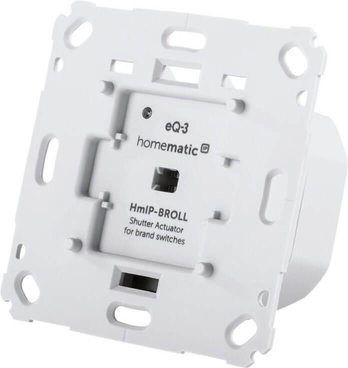 Homematic IP Rollladenaktor für Markenschalter