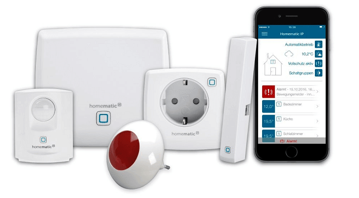 Homematic IP Starter Set Sicherheit Plus