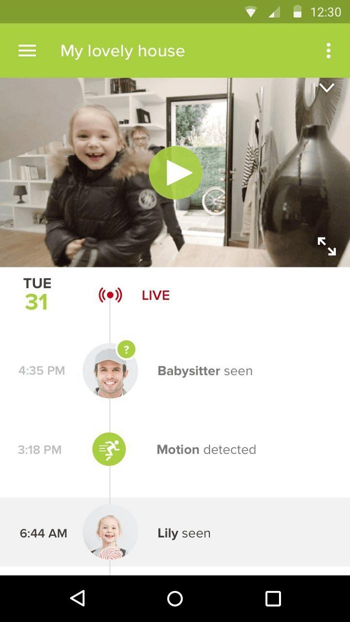 Netatmo Welcome Test Überwachungskamera mit Gesichtserkennung