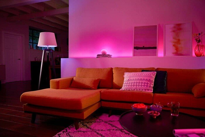 smarte beleuchtung von philips hue smart and home. Black Bedroom Furniture Sets. Home Design Ideas