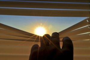 Rolladen schützen vor Sonne