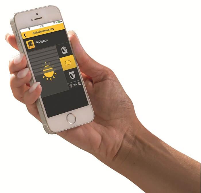 Rollladensteuerung per App