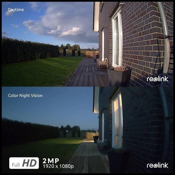 Reolink camera Nachtsicht